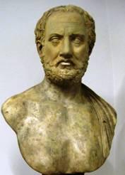 Busto di Tucidide. Mosca, Museo Puškin delle belle arti.