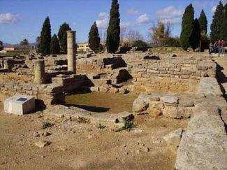 Akra Leuke: resti archeologici.