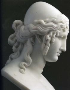 """Antonio Canova, """"Elena"""". Marmo (1819). San Pietroburgo, Ermitage."""