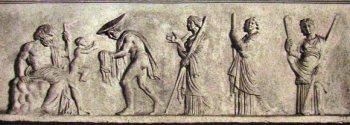 Nascita di Dioniso. Roma, Musei Vaticani.