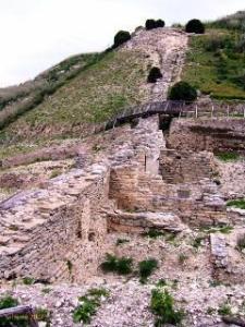 Segesta, le fortificazioni.