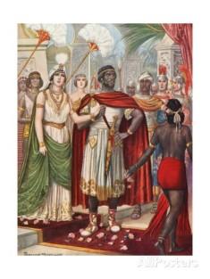 """Tancredi Scarpelli (1866-1937), """"Le nozze di Massinissa e Sofonisba"""". Collezione privata."""