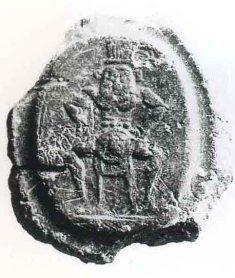 Cretula dall'archivio di Cartagine punica.