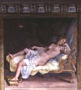 Giulio Romano e aiuti (1492/1499-1546), Il sogno di Ecuba. Mantova, Pa-lazzo Ducale, Sala di Troia.