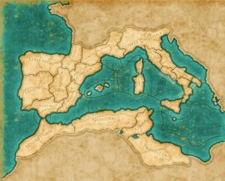 Gli Ilergeti occupano la Ilerda, regione della Hispania Citerior.
